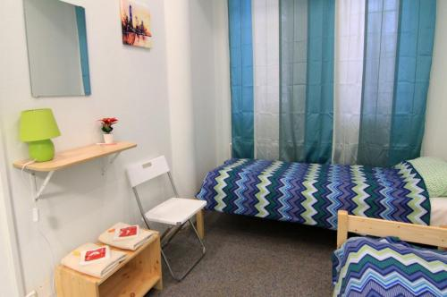 Двухместный номер с раздельными кроватями в хостеле Измайловский Парк